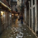 Venice: City in Peril flooded ally, Photo by dvdqueenan - http://www.flickr.com/photos/dvdqueenan/