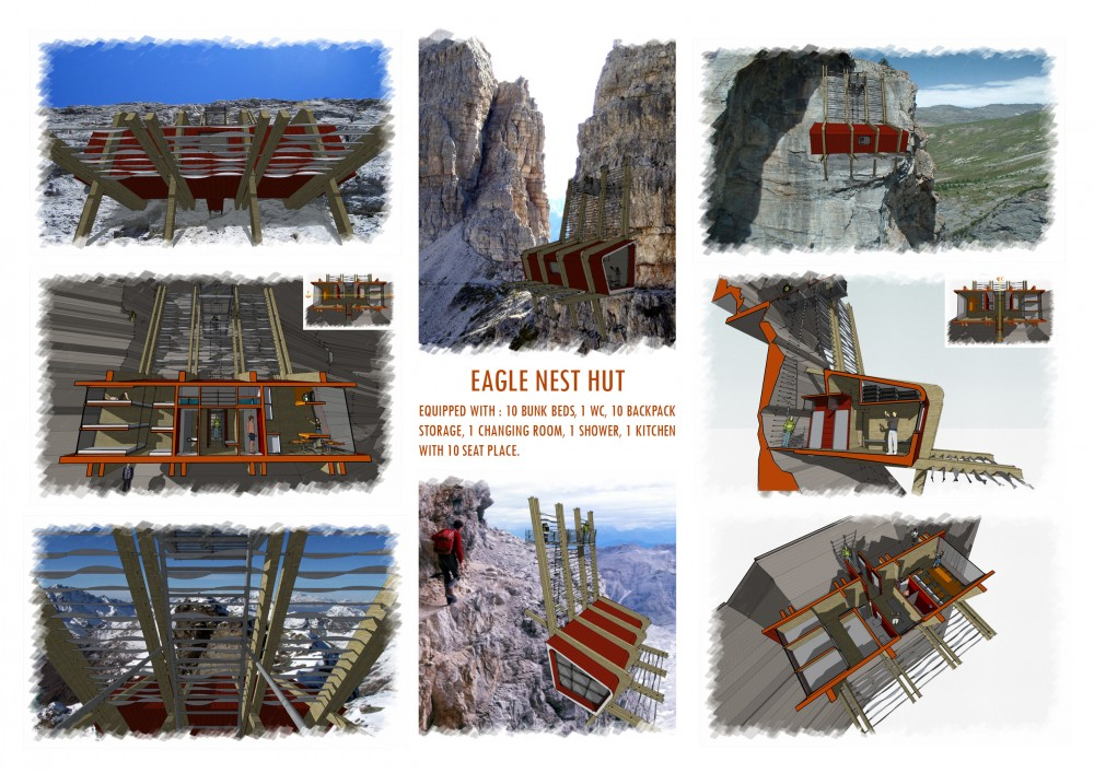 Eagle Nest Hut Proposal / Piero Ceratti