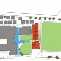 Barcelona Elementary School / Baker Architecture + Design (11) Site Diagram