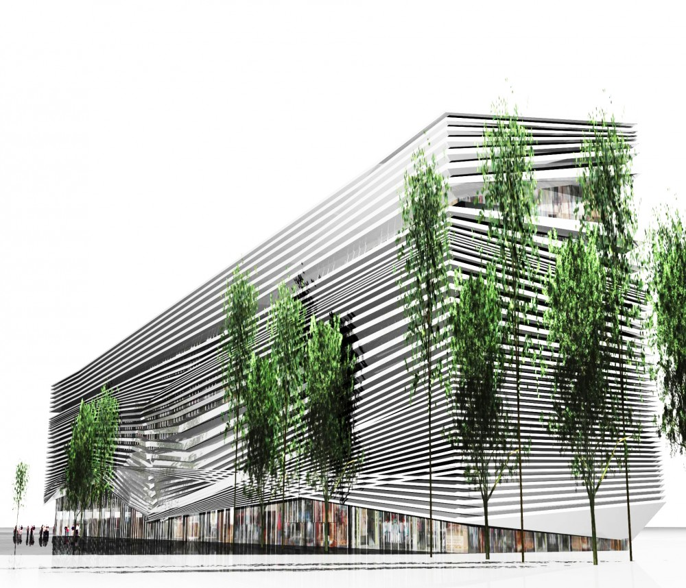 Commercial Complex for Building Industry Proposal / Alireza Mahdizadeh Hakak, Ali Aleali, & Fatemeh Farmanfarmayee
