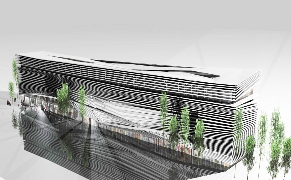 Commercial Complex for Building Industry Proposal / Alireza Mahdizadeh Hakak, Ali Aleali, &#038; Fatemeh Farmanfarmayee