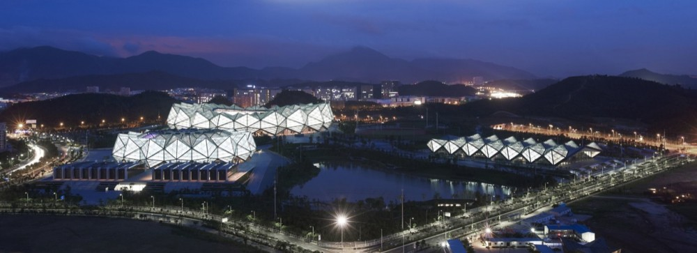 Universiade Sports Center and Baoan Stadium / gmp architekten