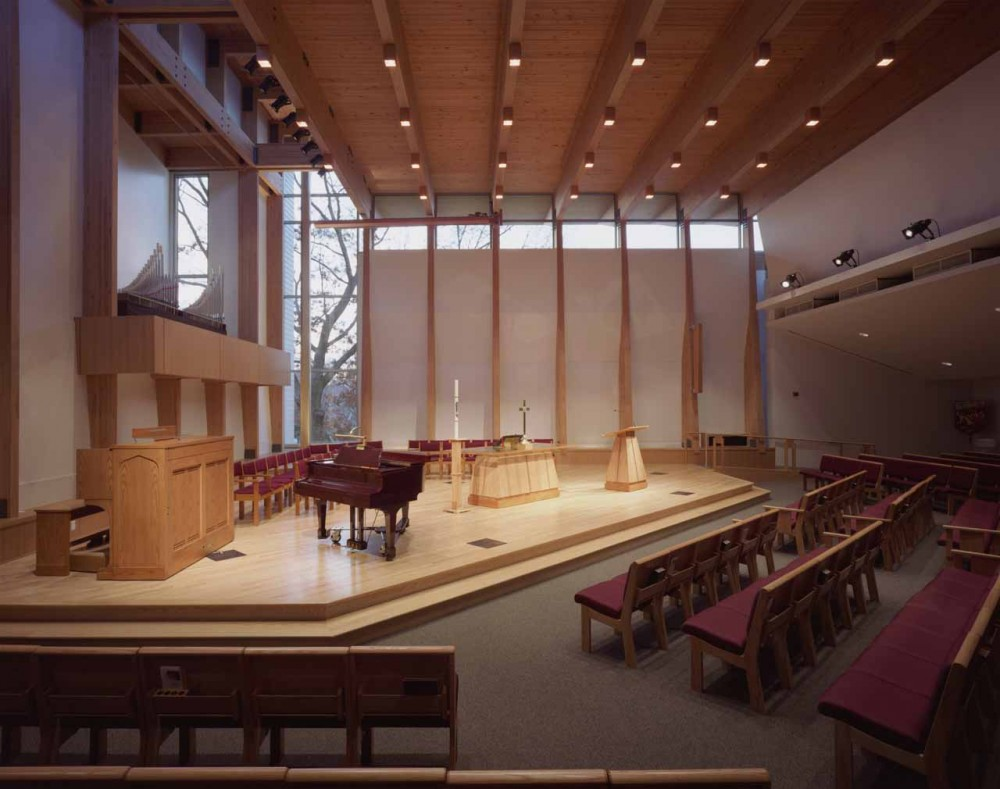 First Congregational Church, United Church of Christ Sanctuary / Constantine George Pappas AIA Architecture/Planning