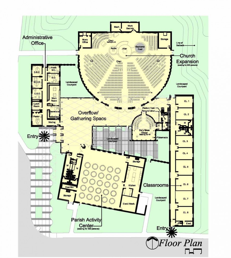 Catholic Church Floor Plan 28 Images Places And Forms
