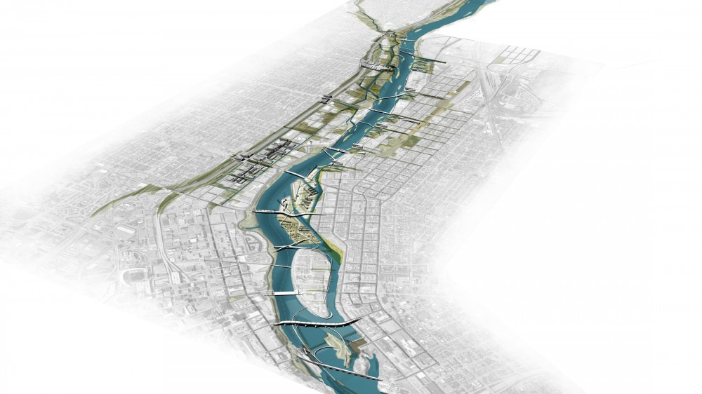 Minneapolis Riverfront Competition Finalist / StossLU