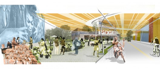 Patchwork Living City Design Competition Olin Archdaily