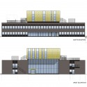 New Library and renovation of City Hall in Søgne / A-Lab (9) Elevations