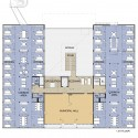 New Library and renovation of City Hall in Søgne / A-Lab (5) 2nd Floor Plan