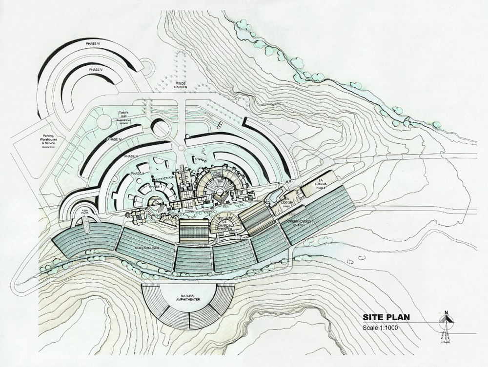 Paolo Soleri's Arcosanti : The City in the Image of Man