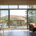 Pine Forest Cabin / Balance Associates Architects (9) © Steve Keating Photography