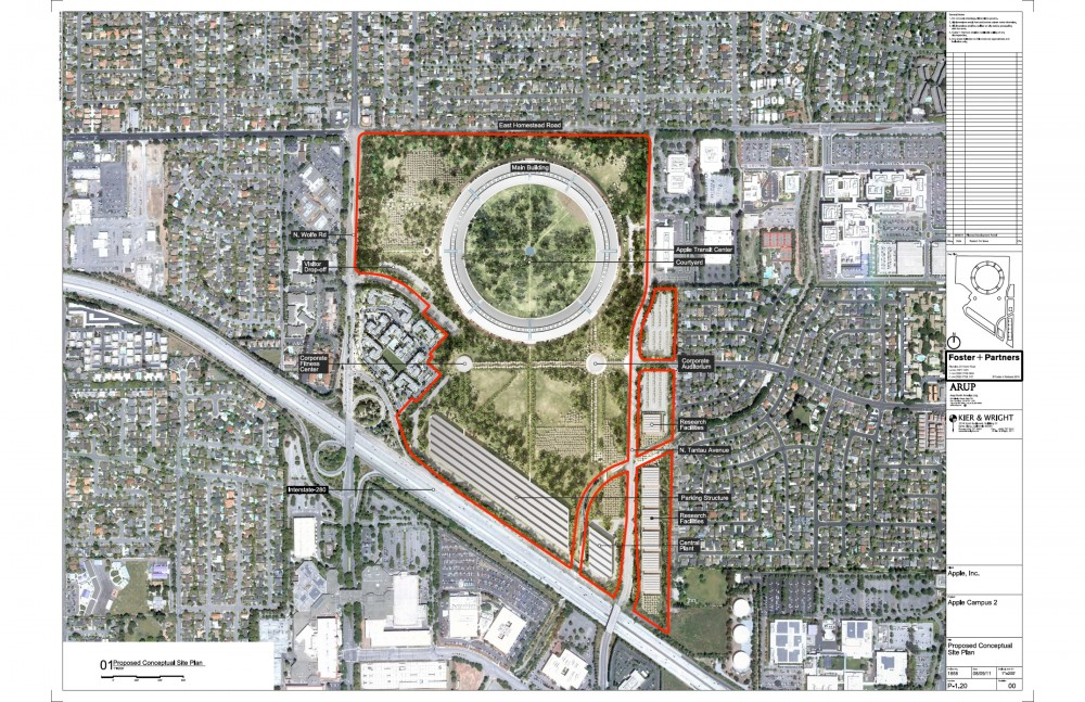 More about Foster + Partner&#8217;s new Apple Campus in Cupertino