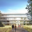Apple Campus in Cupertino, Foster + Partners, ARUP & Kier + Wright (38) © Foster + Partners, ARUP, Kier + Wright, Apple