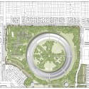 Apple Campus in Cupertino, Foster + Partners, ARUP & Kier + Wright (2) Conceptual landscape plan north © Foster + Partners, ARUP, Kier & Wright, Apple