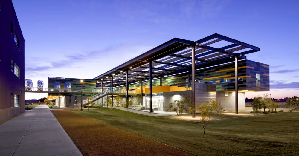 Chandler Gilbert Community College Ironwood Hall / Architekton