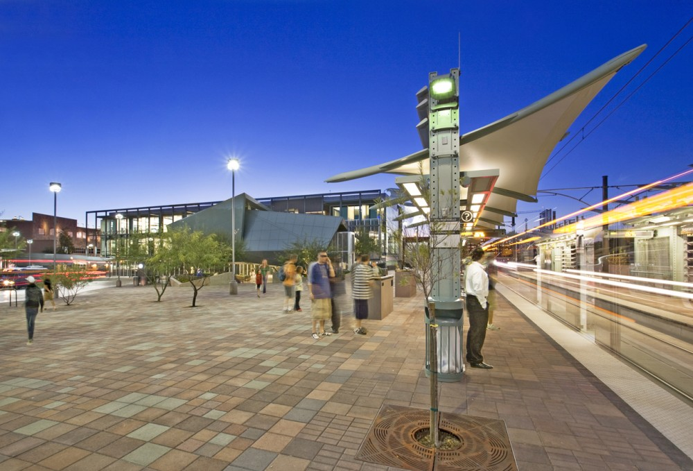Tempe Transportation Center / Architekton