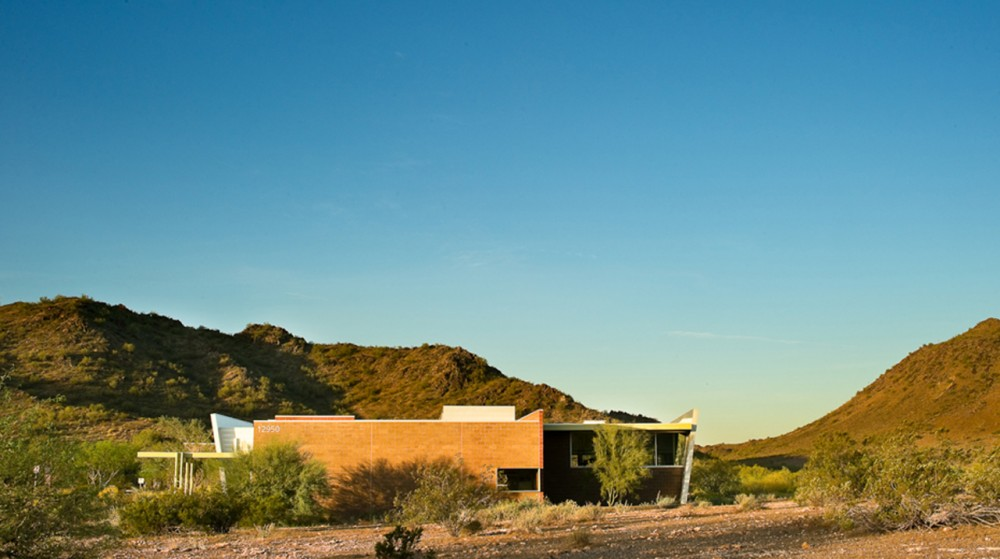 North Mountain Visitor Center / John Douglas Architects