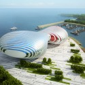 Busan Opera House Proposal (1) Courtesy of Peter Ruge Architekten
