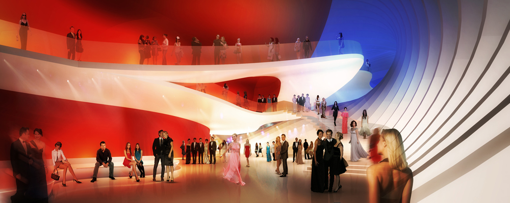Busan Opera House Proposal / Peter Ruge Architekten