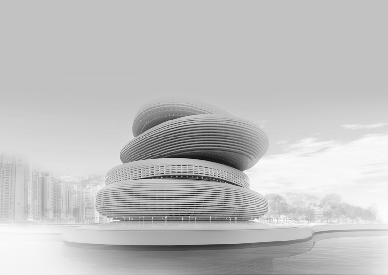 Busan Opera House Proposal / PRAUD