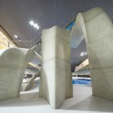 London Aquatics Centre for 2012 Summer Olympics / Zaha Hadid Architects (25) Hufton + Crow