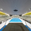 London Aquatics Centre for 2012 Summer Olympics / Zaha Hadid Architects (24) Hufton + Crow