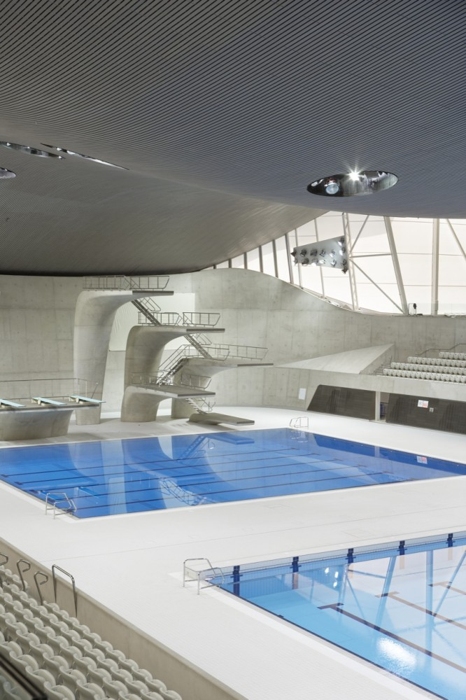London Aquatics Centre for 2012 Summer Olympics / Zaha Hadid Architects