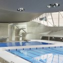 London Aquatics Centre for 2012 Summer Olympics / Zaha Hadid Architects (15) Hufton + Crow
