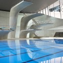 London Aquatics Centre for 2012 Summer Olympics / Zaha Hadid Architects (14) Hufton + Crow