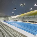 London Aquatics Centre for 2012 Summer Olympics / Zaha Hadid Architects (12) Hufton + Crow