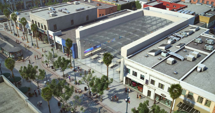 Is a New Apple Retail Store coming to the Third Street Promenade?