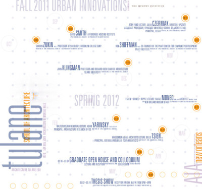 Tulane School of Architecture 2011-2012 Lecture Series
