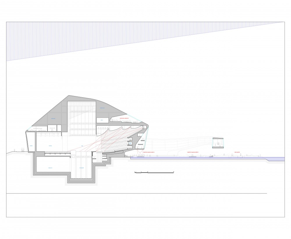Busan Opera House Proposal / Kubota & Bachmann Architects