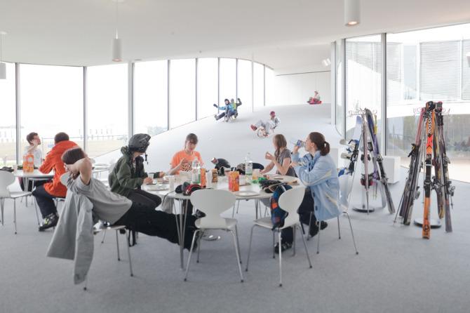 Rolex Learning Center Photographic Project (5) Courtesy of Johann Watzke, Anne-Fanny Cotting & Aurélie Mindel of EPFL