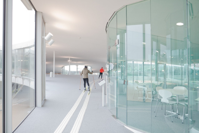 Rolex Learning Center Photographic Project (4) Courtesy of Johann Watzke, Anne-Fanny Cotting & Aurélie Mindel of EPFL