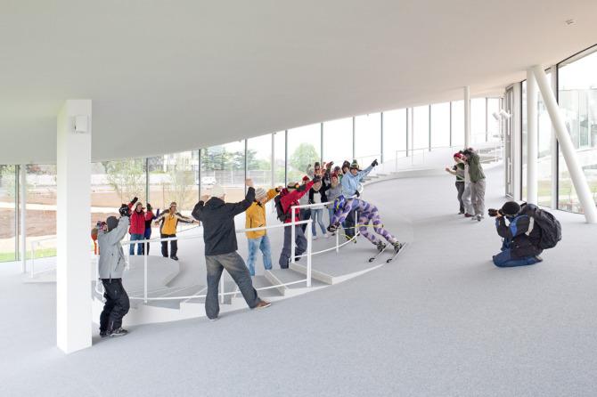 Rolex Learning Center Photographic Project (2) Courtesy of Johann Watzke, Anne-Fanny Cotting & Aurélie Mindel of EPFL