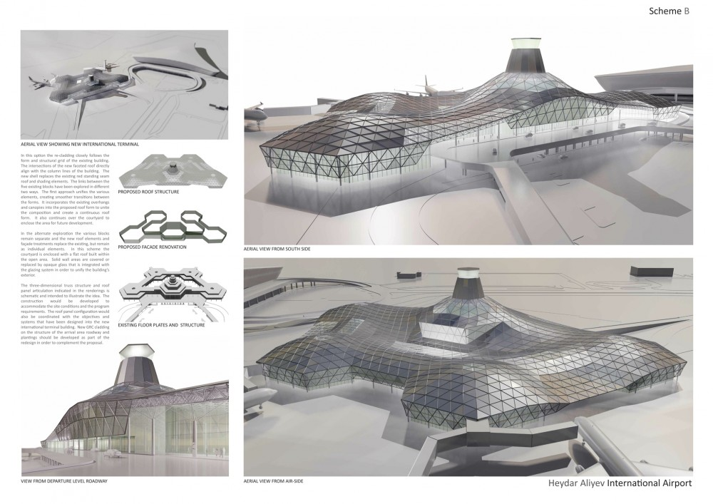Heydar Aliyev International Airport / RSA Design Group