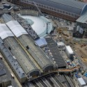 In Progress: King's Cross Station / John McAslan + Partners (19) aerial of site Courtesy of John McAslan + Partners