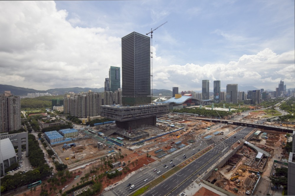 Update: Shenzhen Stock Exchange by OMA