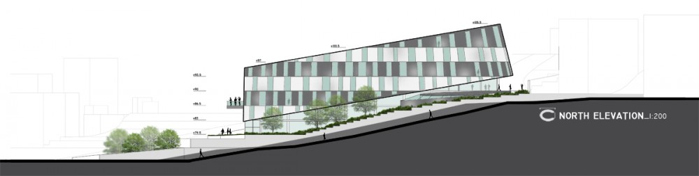 Şişli High School Competition Entry / cem kaptan architecture