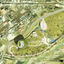 The Spiral Garden Museum Proposal (19) master plan