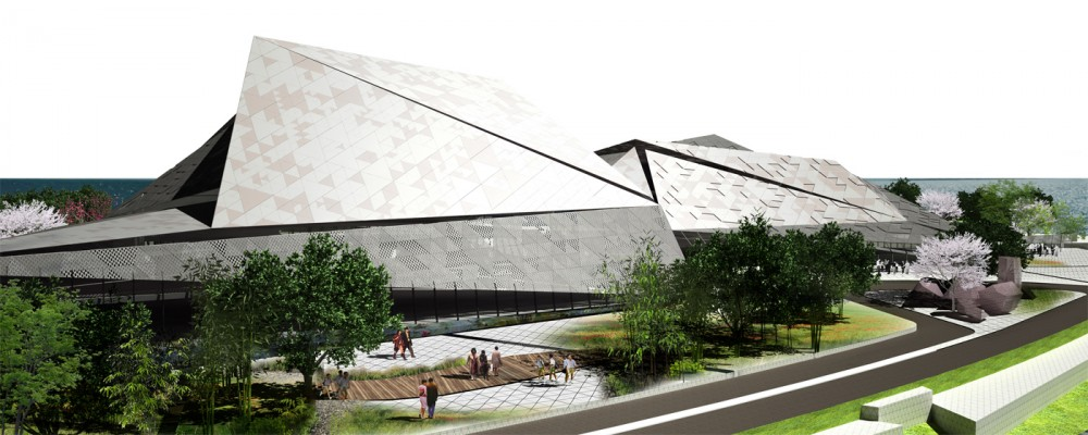 Busan Metropolitan Opera House Competition Proposal / INDEX Architecture