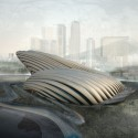 Busan Opera House Competition Proposal (1) Courtesy of OODA