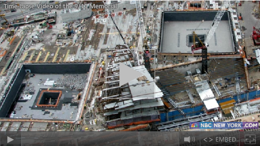 9/11 Memorial Time Lapse