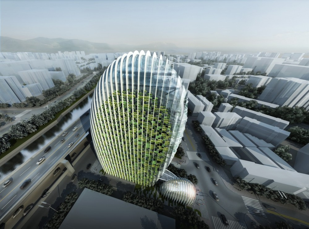 Taipei Nangang Office Tower / Aedas
