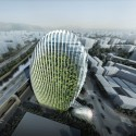 Taipei Nangang Office Tower (1) Courtesy of Aedas Beijing Ltd