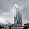 Taipei Nangang Office Tower (3) Courtesy of Aedas Beijing Ltd
