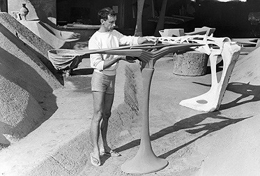 Paolo Soleri's Bridge Design Collection: Connecting Metaphor