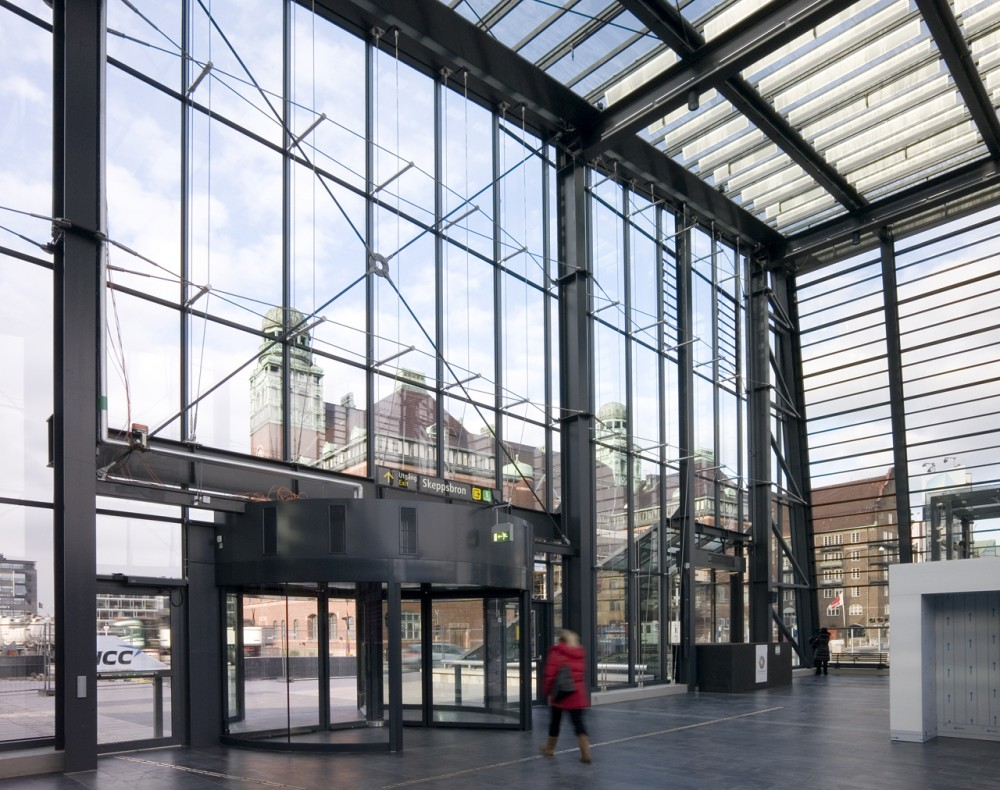 Malm Central Station / Metro Arkitekter
