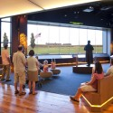 Fort McHenry National Monument and Historic Shrine Visitor and Education Center / GWWO Architects  (6) © Robert Creamer