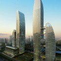 Greenland Zhengzhou Towers / Brininstool, Kerwin, &amp; Lynch (1)  Brininstool, Kerwin, &amp; Lynch